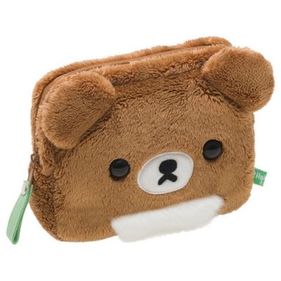 拉拉熊蜂蜜森林小熊系列毛絨收納包 。蜂蜜小熊San-X