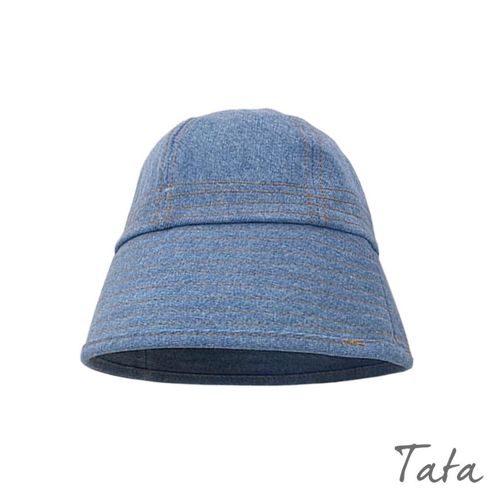 經典牛仔布面漁夫帽 共二色 TATA