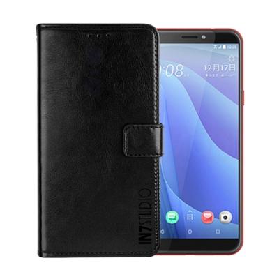 IN7 瘋馬紋 HTC Desire 12s (5.7吋) 錢包式 磁扣側掀PU皮套 手機皮套保護殼