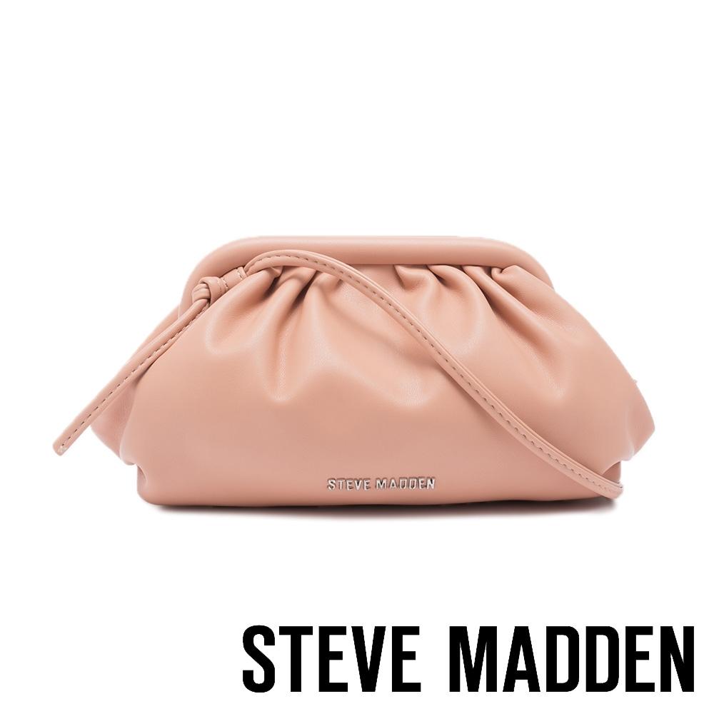 STEVE MADDEN-BNIKKI 軟綿雲朵側背包-粉藕色