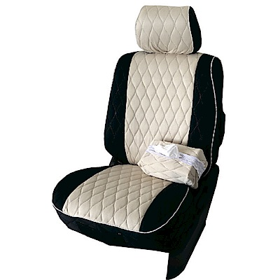 【葵花】量身訂做-汽車椅套-布料-排汗配色-露營車款-雙前座-第一排2人座