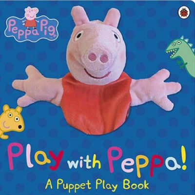 Play With Peppa Hand Puppet Book 佩佩豬手偶互動書