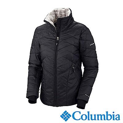 Columbia哥倫比亞 女款- Omni-HEAT鋁點保暖立領外套-深灰