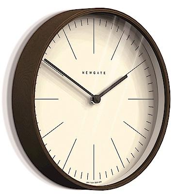 Newgate 英倫風格時鐘-克拉克-核桃木紋-28cm
