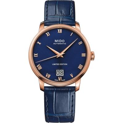 MIDO 美度 Baroncelli 羅馬大日期機械錶-40mm  M0274263604300