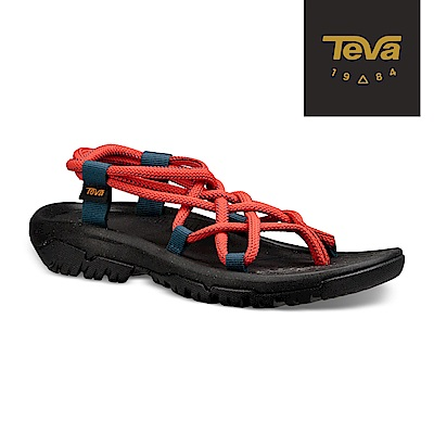 TEVA 美國-女 XLT Infinity 羅馬織帶運動涼鞋 珊瑚紅