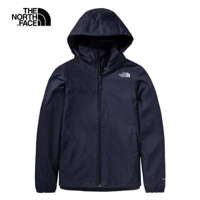 The North Face 女 防水透氣衝鋒外套 深藍-NF0A4N9VRG1