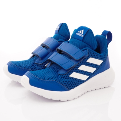 adidas童鞋 透氣輕量彈力款 SI453藍(中小童段)