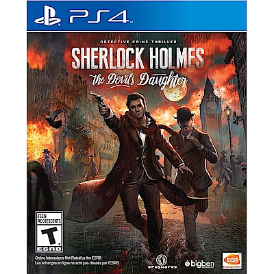 福爾摩斯:惡魔之女 Sherlock Holmes - PS4 英文美版