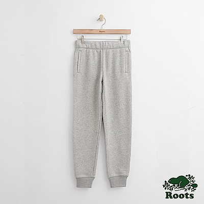 Roots-女裝-喬治吉尼亞棉褲灰