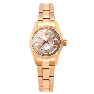 Valentino Coupeau 范倫鐵諾 古柏 都會數字腕錶 (全玫/銀面/女錶)