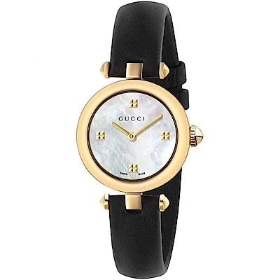 (領券折660)GUCCI Diamantissima典雅高質感腕錶27mm(YA141505)