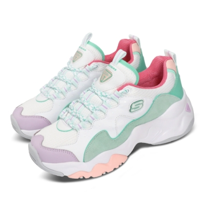 Skechers 休閒鞋 D Lites 3 厚底 老爹 女鞋