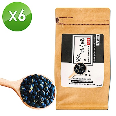 御復珍 黑豆茶6包組-(20入/包)