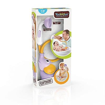 Yookidoo 以色列 洗澡/ 戲水玩具 - 小象蓮蓬頭-紫