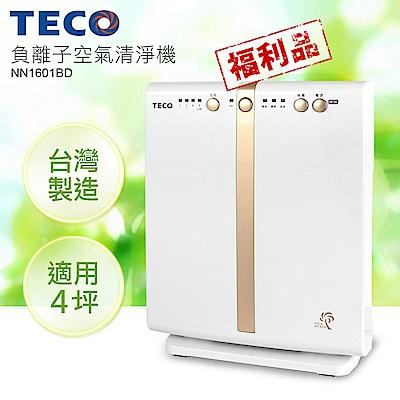 TECO東元 4坪 負離子空氣清淨機 NN1601BD 福利品
