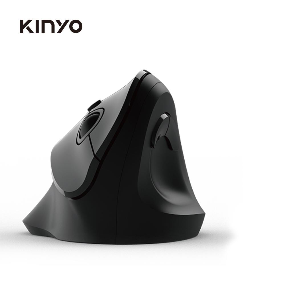 KINYO 2.4GHz直立式無線滑鼠GKM919