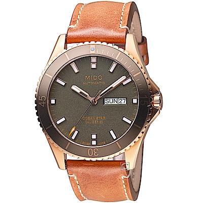 MIDO美度OCEAN STAR海洋之星系列時尚腕錶(M0264303609100)