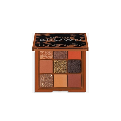 (NG品)HUDA BEAUTY BROWN系列 9色眼影盤#caramel 7.5g