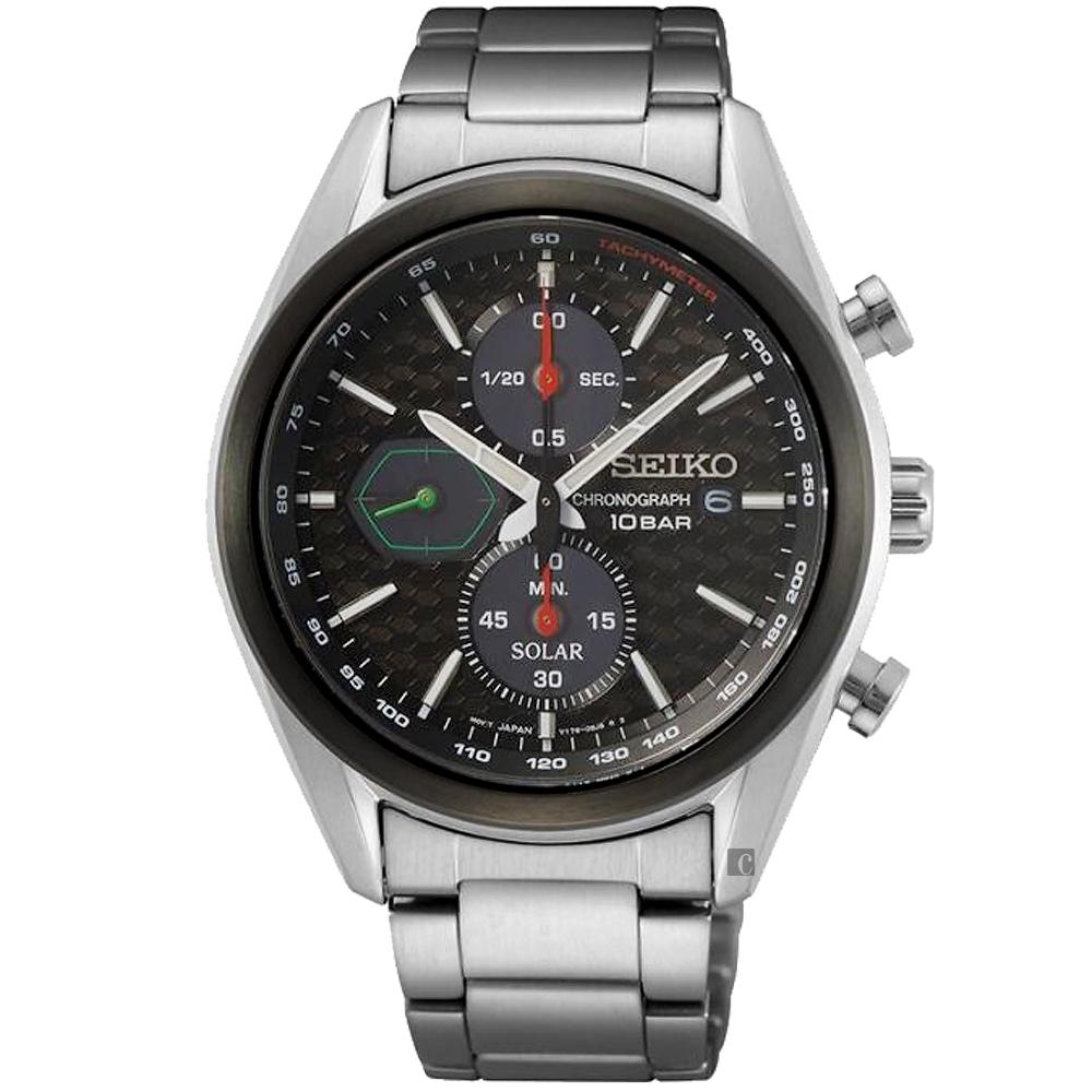 SEIKO 精工 CS 喬治亞羅設計 計時手錶(SSC803P1/V176-0BH0D)-41mm
