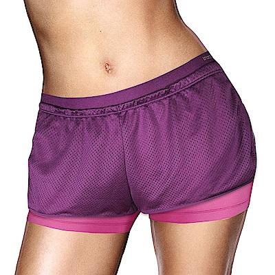 黛安芬-Triaction Cardio機能好動 M-EL運動短褲 動力紫