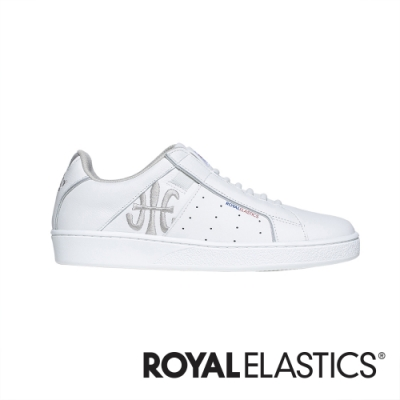 ROYAL ELASTICS Icon Genesis 白色真皮運動休閒鞋 (女) 91902-008