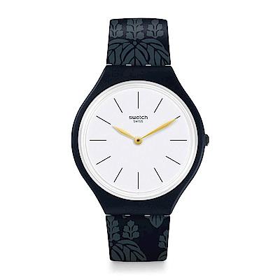 Swatch SKIN超薄系列 SKINWALL 超薄花樣手錶