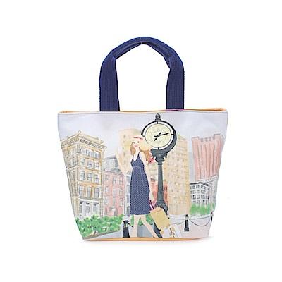 Reiko Aoki青木禮子Tribeca-traveling彩繪托特包