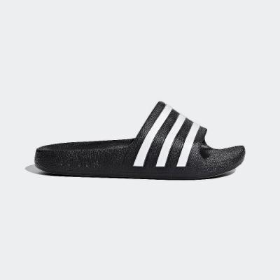 ADIDAS 休閒 運動 游泳 涼拖鞋 大童 童鞋 黑 F35556 SLIDES