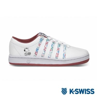 K-SWISS Classic 88 Peanuts史努比聯名 女-白/粉紅
