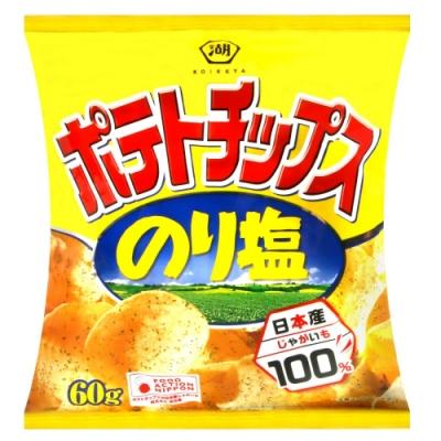 湖池屋 海苔鹽味薯片(60g)