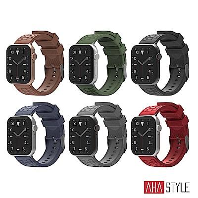 AHAStyle Apple Watch 專用運動矽膠錶帶 越野款(38/40mm)