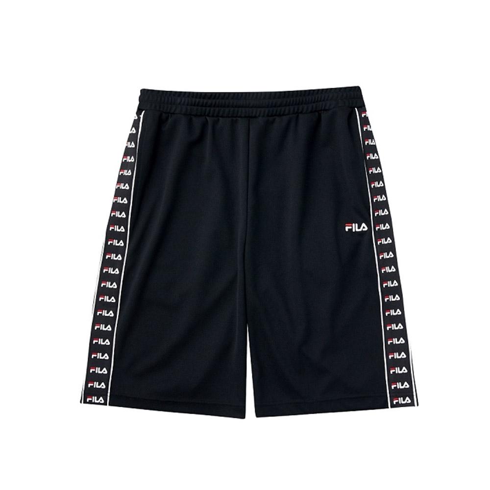 FILA 吸濕排汗短褲-黑色 1SHV-1472-BK