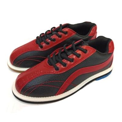 【DJ80嚴選】LANEWOLF 新式樣3.0仿真皮女用高級保齡球鞋-右手鞋(彩豔紅/黑)