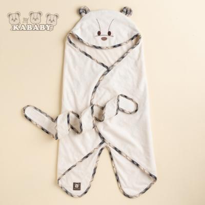 【金安德森】KA星星熊有機棉包巾 (米色)