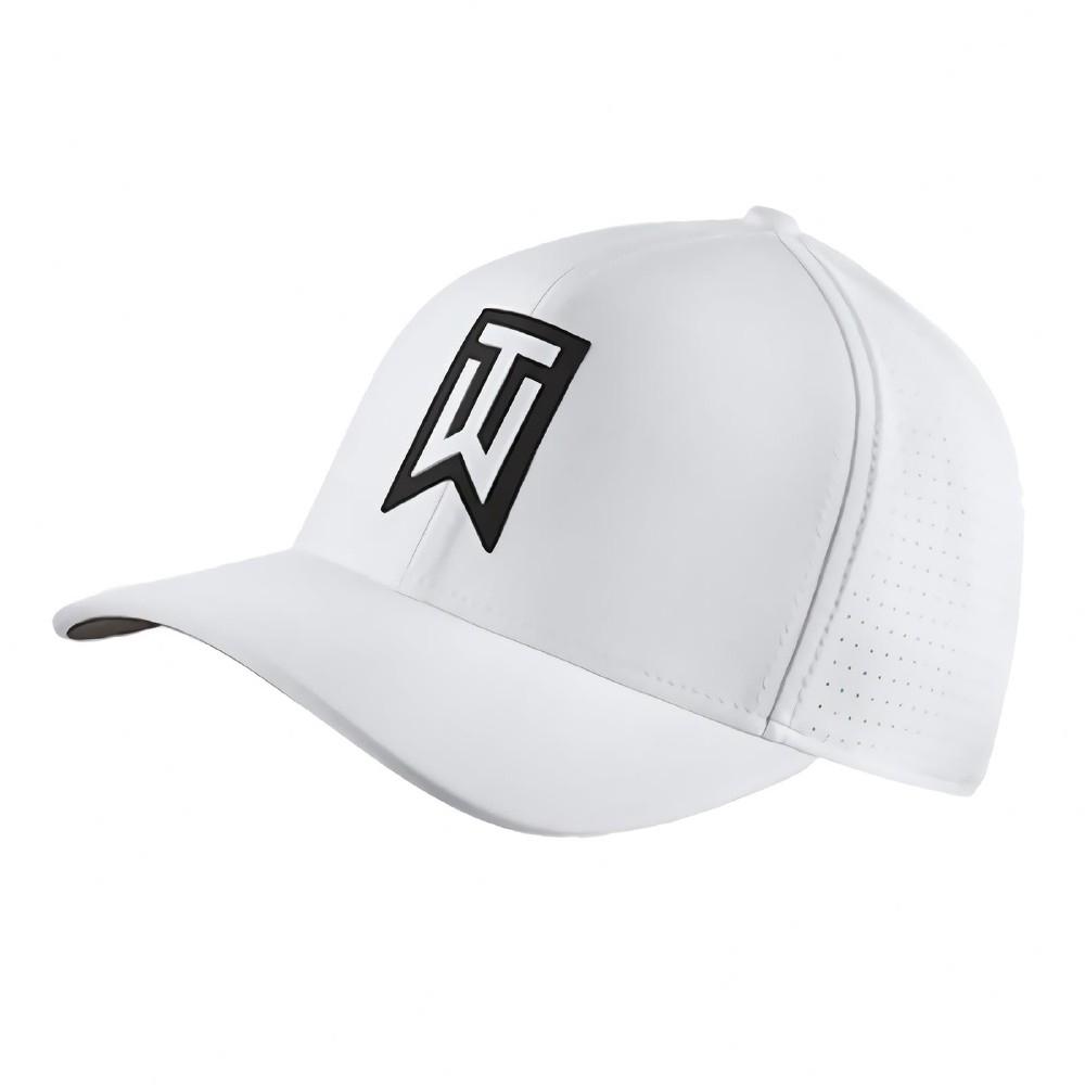 Nike 帽子 Golf Classic 99 男女款 高爾夫球帽 遮陽 快乾 穿搭 老虎伍茲 白 黑 892482100