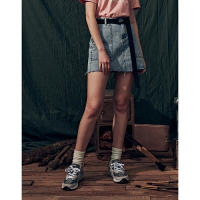 NAVY-大貼袋牛仔短裙-女【B2NA062】