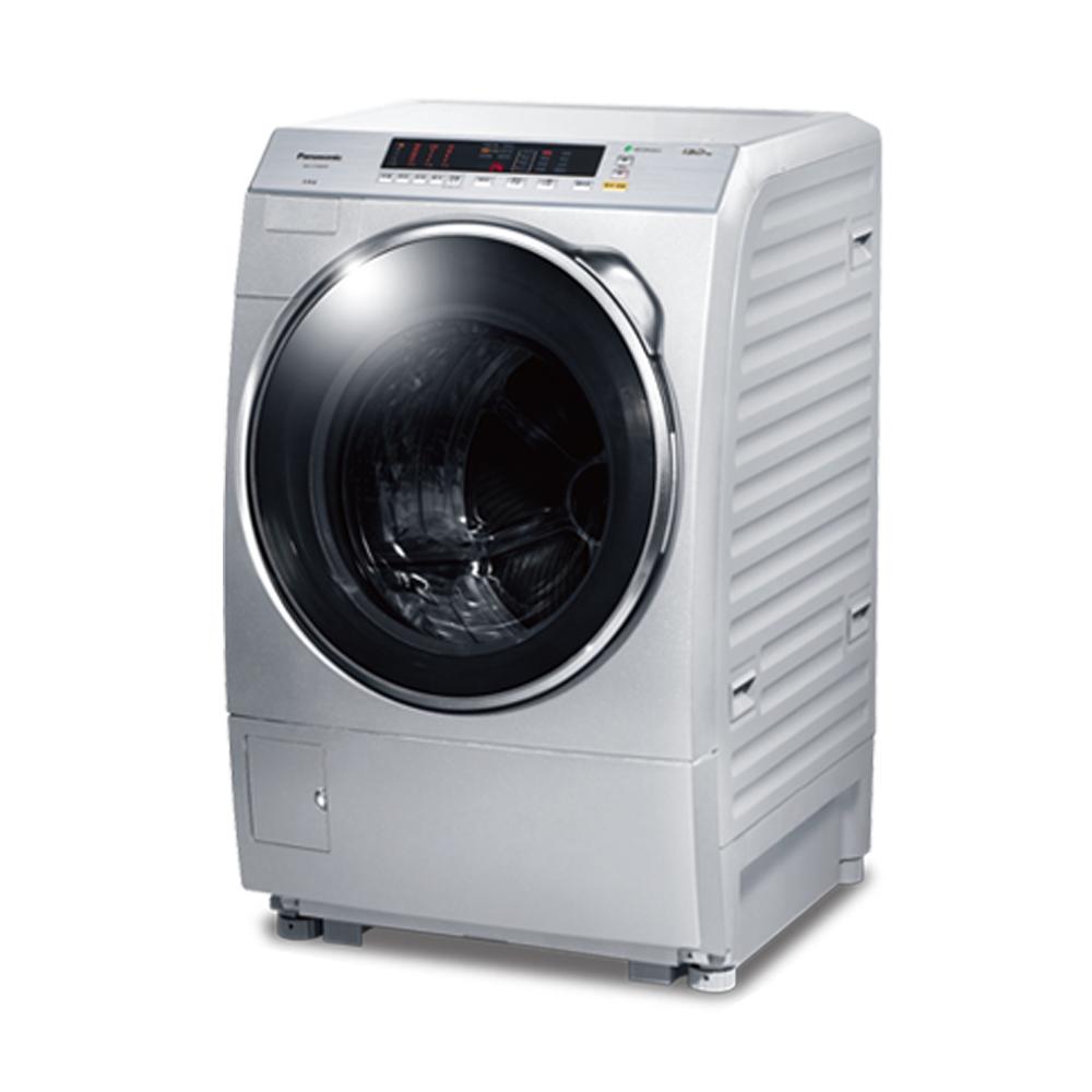 [無卡分期12期]Panasonic國際牌 變頻 滾筒洗衣機 NA-V130DW 炫亮銀