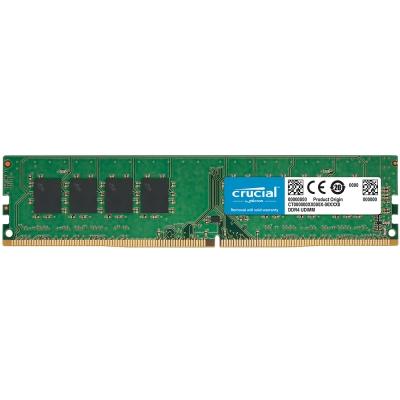 Micron Crucial DDR4 2666/16G RAM桌上型記憶體 適用PC第9代CPU以上(CT16G4DFRA266)