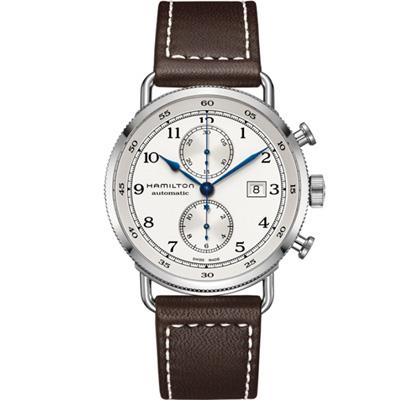 Hamilton Pioneer Auto Chrono計時機械錶(H77706553)