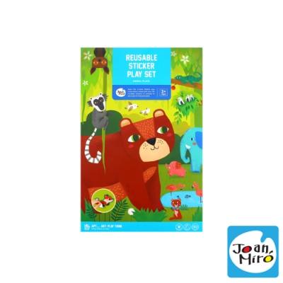 【西班牙 JoanMiro 原創美玩】兒童場景靜電貼紙-動物之家 JM94117