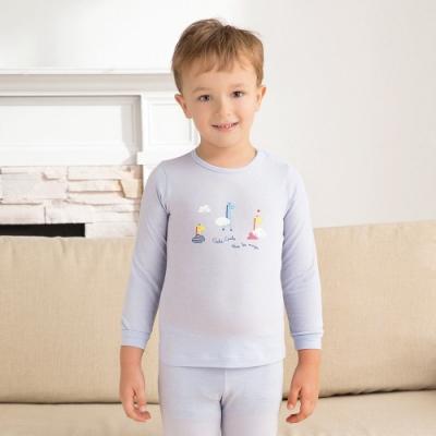 奇哥 長頸鹿側開衫-羊毛保暖布 4-10歲 (2色選擇)