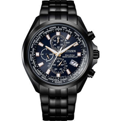 CITIZEN Eco-Drive 時空行者電波腕錶-AT8205-83L-44mm