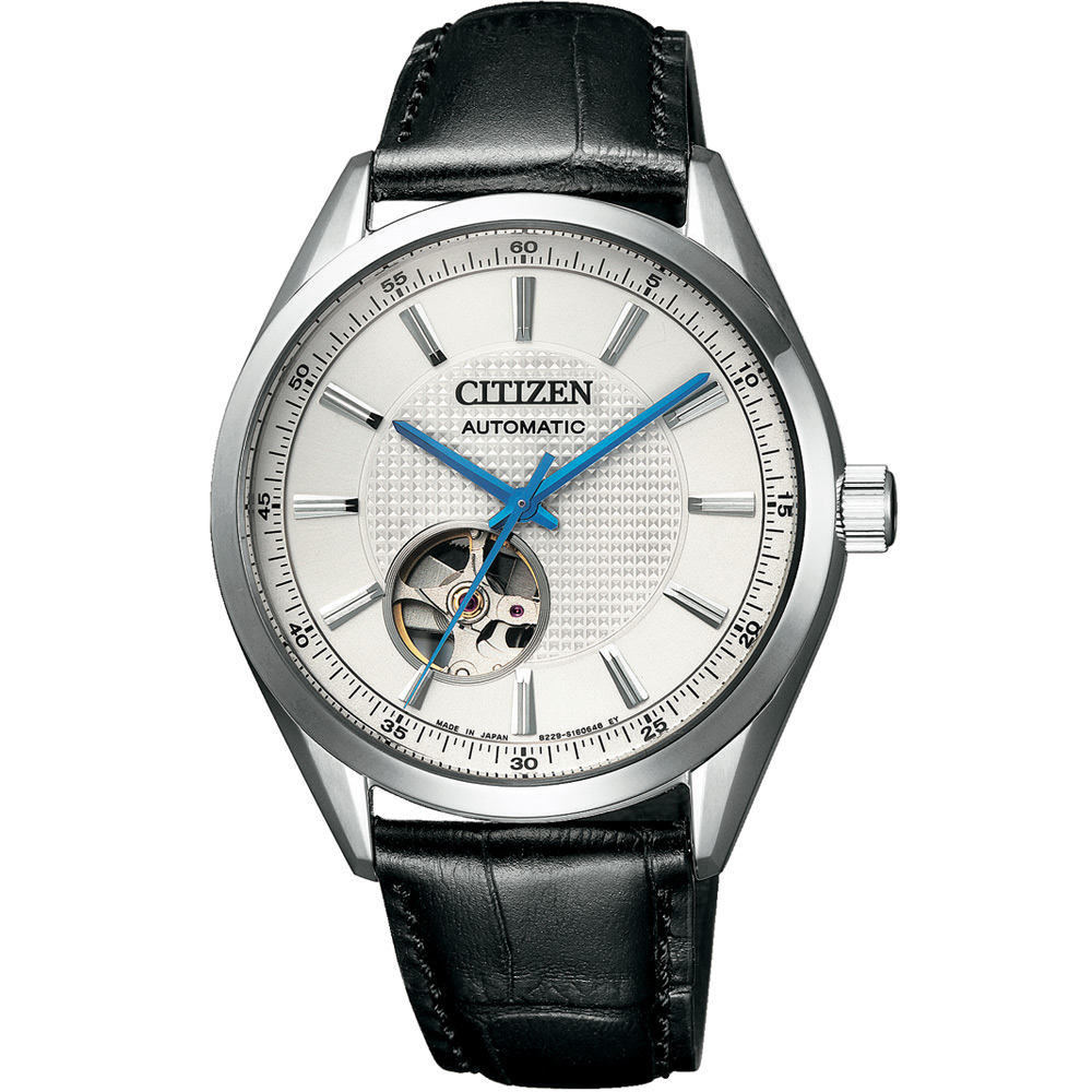 CITIZEN星辰 限量鏤空紳士機械錶(NH9111-11A)-白x黑/40mm @ Y!購物