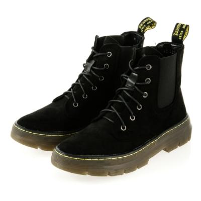 JMS-經典進化切爾西綁帶馬汀馬丁短靴-黑色