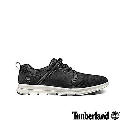 Timberland 男款黑色泡棉鞋墊休閒鞋|A1HRX
