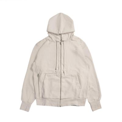 Nike 外套 Full-Zip Hoodie 運動休閒 男款 Dri-FIT 吸濕排汗 快乾 連帽外套 米 白 CK6363072