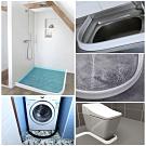 EZlife浴室乾溼分離任彎曲擋水條120CM