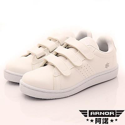 ARNOR-百搭輕盈休閒鞋款-EI2139香草白(女段)