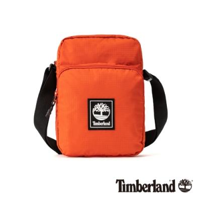 Timberland 中性亮橙色方形小斜背包|A2FHS